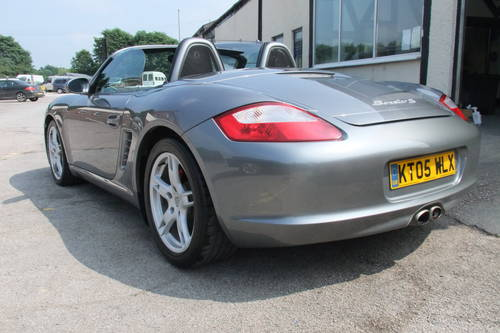 2005 PORSCHE BOXSTER 3.2 24V S 2DR Manual SOLD (picture 3 of 6)