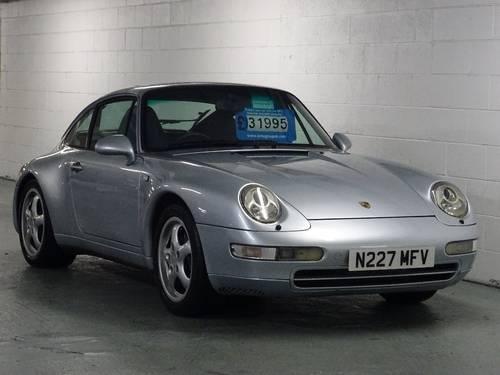1995 Porsche 911 993 3.6 Carrera S Tiptronic For Sale (picture 1 of 6)