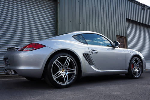 2009 Porsche Cayman S Gen 2, Manual, GT Silver, FPSH, Outstanding SOLD (picture 2 of 6)
