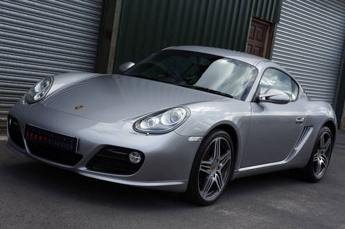 2009 Porsche Cayman S Gen 2, Manual, GT Silver, FPSH, Outstanding SOLD (picture 3 of 6)