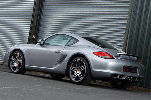 2009 Porsche Cayman S Gen 2, Manual, GT Silver, FPSH, Outstanding SOLD (picture 4 of 6)