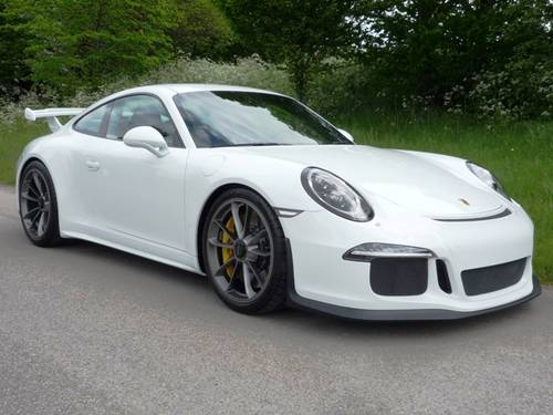 2015 Porsche 911 GT3 LHD For Sale (picture 1 of 6)