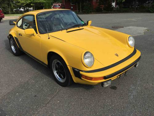 1981 Porsche 911SC Sunroof Coupe Good Driver- SOLD (picture 1 of 6)