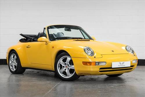 1995 Porsche 911 (993) Carrera Cabriolet Auto SOLD (picture 1 of 6)