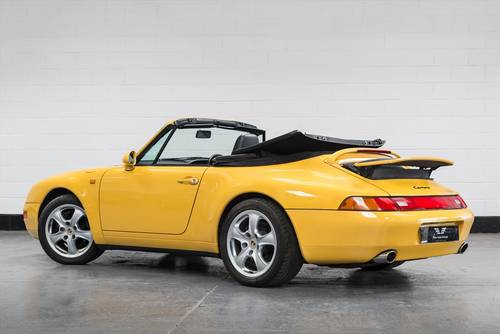 1995 Porsche 911 (993) Carrera Cabriolet Auto SOLD (picture 3 of 6)