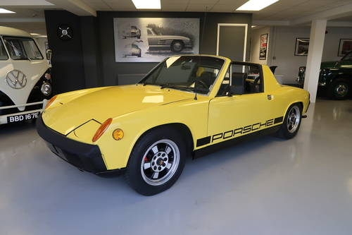 1970 Porsche 914 1.7 2dr Targa Canary Yellow SOLD (picture 1 of 6)