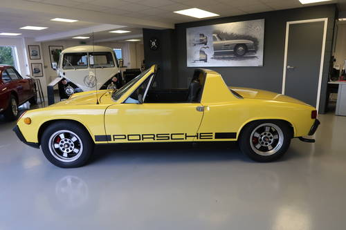 1970 Porsche 914 1.7 2dr Targa Canary Yellow SOLD (picture 3 of 6)