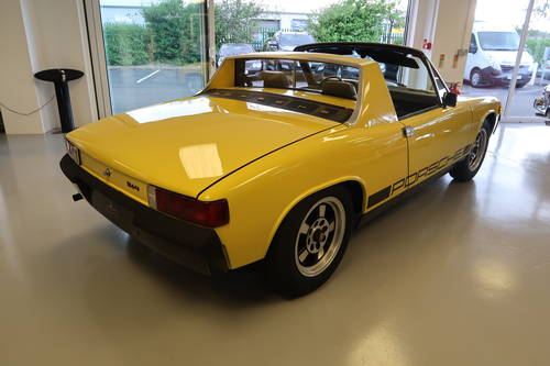 1970 Porsche 914 1.7 2dr Targa Canary Yellow SOLD (picture 4 of 6)