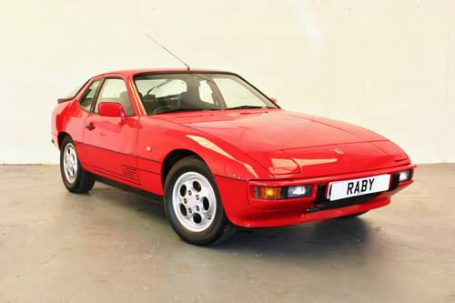 Porsche 924S with incredible history. 1986 SOLD (picture 1 of 6)