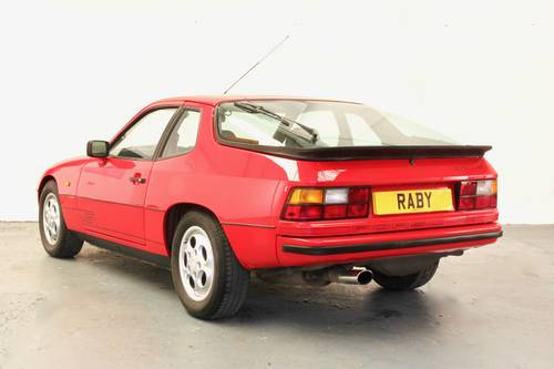 Porsche 924S with incredible history. 1986 SOLD (picture 3 of 6)