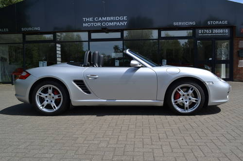 2006 Porsche Boxster 3.2S convertible 1 owner low miles fdsh SOLD (picture 1 of 6)
