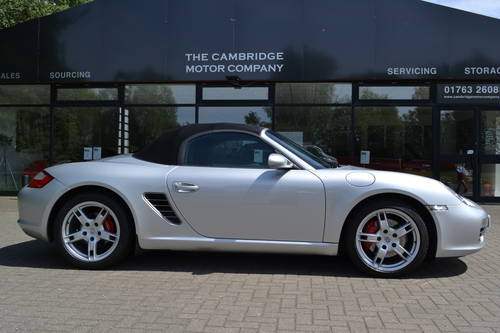 2006 Porsche Boxster 3.2S convertible 1 owner low miles fdsh SOLD (picture 2 of 6)