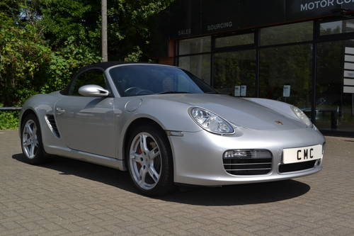 2006 Porsche Boxster 3.2S convertible 1 owner low miles fdsh SOLD (picture 3 of 6)