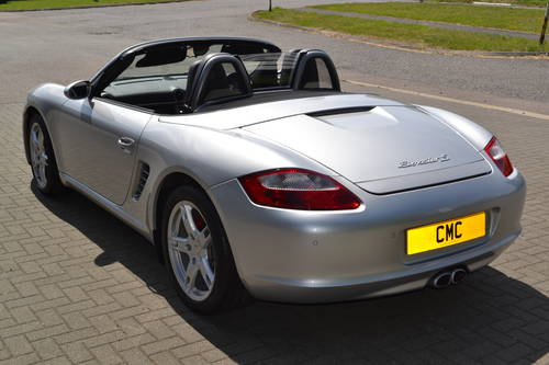 2006 Porsche Boxster 3.2S convertible 1 owner low miles fdsh SOLD (picture 4 of 6)