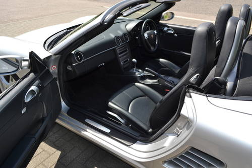 2006 Porsche Boxster 3.2S convertible 1 owner low miles fdsh SOLD (picture 5 of 6)