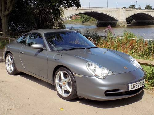 2002 PORSCHE 911 (996) CARRERA 2 TIPTRONIC S COUPE SOLD (picture 1 of 6)