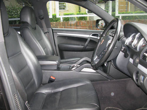 2008 PORSCHE CAYENNE S TIPTRONIC (BLACK METALLIC) For Sale (picture 5 of 6)