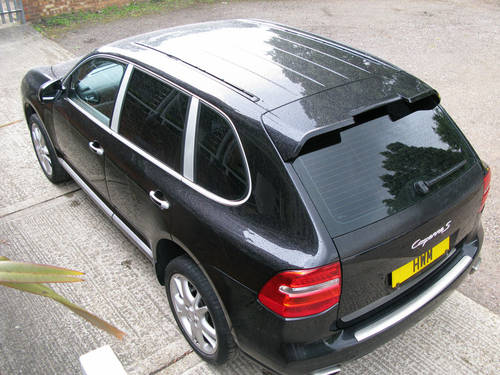 2008 PORSCHE CAYENNE S TIPTRONIC (BLACK METALLIC) For Sale (picture 6 of 6)