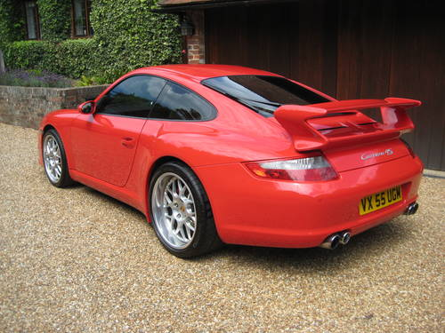Porsche 911 (997) Carrera 4S With Factory Aerokit + Powerkit For Sale (picture 5 of 6)
