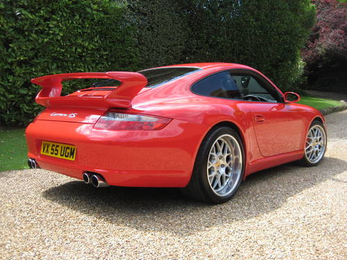 Porsche 911 (997) Carrera 4S With Factory Aerokit + Powerkit For Sale (picture 6 of 6)