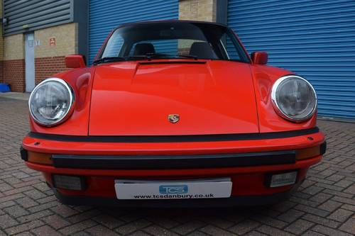 1988 Porsche 911 Carrera 3.2 Targa Sport  SOLD (picture 4 of 6)