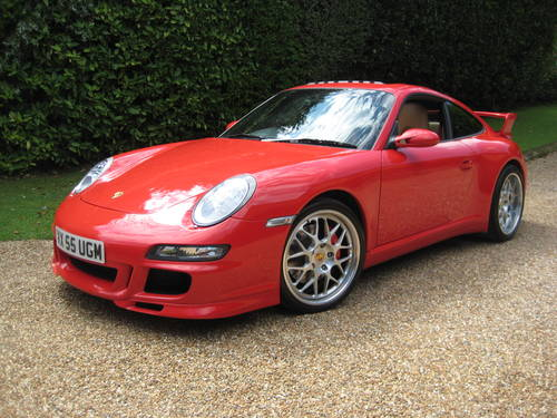 Porsche 911 (997) Carrera 4S With Factory Aerokit + Powerkit For Sale (picture 1 of 6)