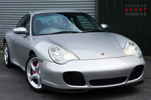 2002 Porsche 911 (996) Carrera 4S Coupe, Manual, Arctic, 90k, FSH SOLD (picture 1 of 6)