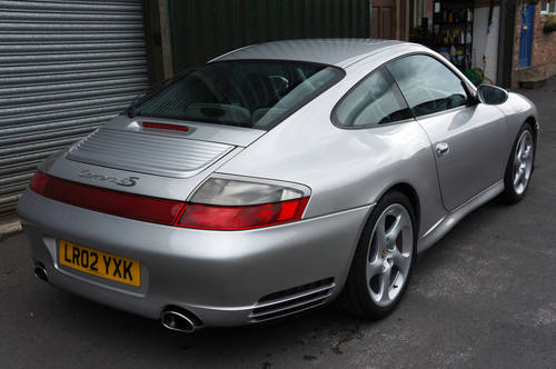 2002 Porsche 911 (996) Carrera 4S Coupe, Manual, Arctic, 90k, FSH SOLD (picture 2 of 6)