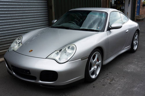 2002 Porsche 911 (996) Carrera 4S Coupe, Manual, Arctic, 90k, FSH SOLD (picture 3 of 6)