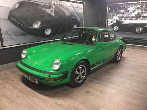 1976 Porsche 911 2.7 Sports SOLD (picture 1 of 3)