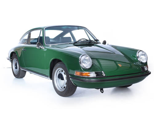 Porsche 911T 1971 Coupe 2.2L Engine 5 Gear Manual LHD Irish  For Sale (picture 1 of 6)