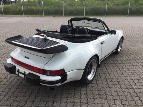 1988 Porsche 911 Turbo Cabriolet  SOLD (picture 3 of 6)