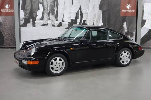 1990 Porsche 911 3.6 Carrera 4 Coupe, only 32.981 km! For Sale (picture 1 of 6)