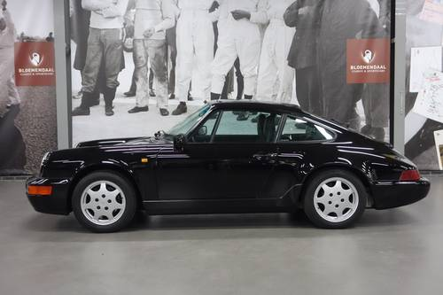 1990 Porsche 911 3.6 Carrera 4 Coupe, only 32.981 km! For Sale (picture 5 of 6)