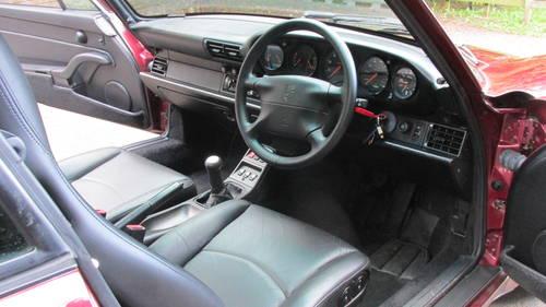 1996 Porsche 993 Carrera 4 Varioram SOLD (picture 5 of 6)