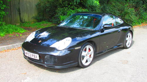 2003 Porsche 996 C4S 43k miles from new SOLD (picture 1 of 6)