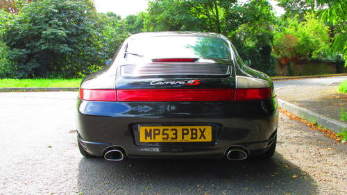 2003 Porsche 996 C4S 43k miles from new SOLD (picture 5 of 6)