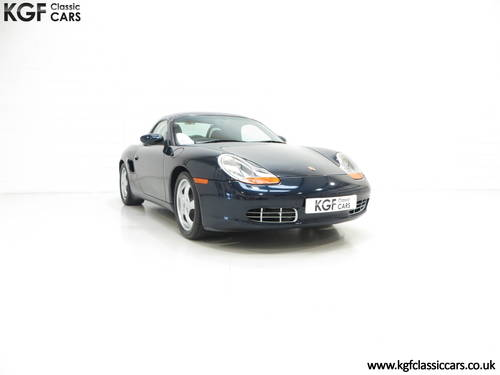 1998 A Stunning Porsche Boxster 986 with 39,859 Miles SOLD (picture 1 of 6)