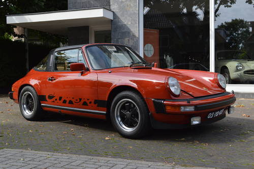 1975 Porsche 911 Carrera Targa 3.0 (LHD) For Sale (picture 2 of 6)