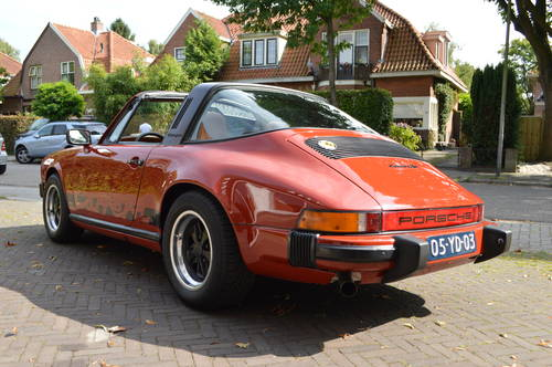 1975 Porsche 911 Carrera Targa 3.0 (LHD) For Sale (picture 4 of 6)