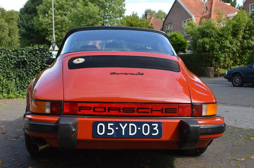 1975 Porsche 911 Carrera Targa 3.0 (LHD) For Sale (picture 5 of 6)