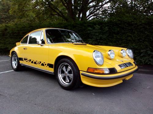 1970 PORSCHE 911  CARRERA  3.0 RS upgrade. SOLD (picture 1 of 6)