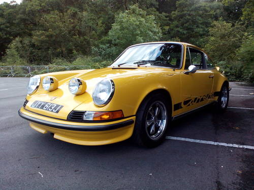 1970 PORSCHE 911  CARRERA  3.0 RS upgrade. SOLD (picture 2 of 6)