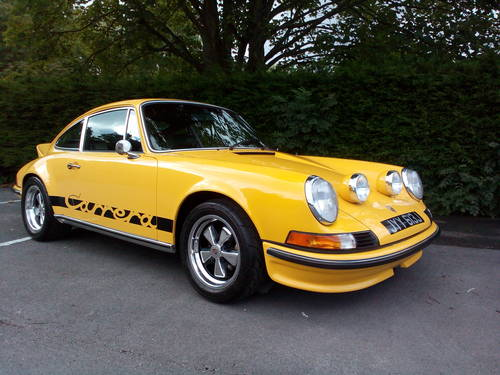 1970 PORSCHE 911  CARRERA  3.0 RS upgrade. SOLD (picture 3 of 6)