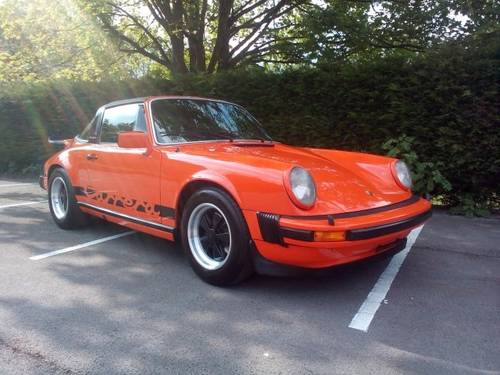 1976 PORSCHE CARRERA  3.0 SPORT TARGA   SOLD (picture 1 of 6)