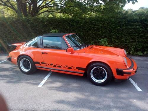 1976 PORSCHE CARRERA  3.0 SPORT TARGA   SOLD (picture 2 of 6)