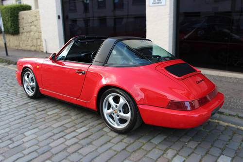 1993 Porsche 911 3.6 964 Carrera 2 Targa 2dr SOLD (picture 3 of 6)