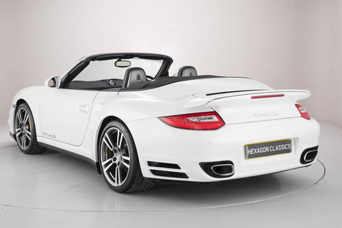2010 PORSCHE 911 (997) TURBO S CABRIOLET SOLD (picture 2 of 6)