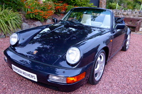 1990 Porsche 911-964 C2 Cabriolet, Manual, Concours winner SOLD (picture 1 of 6)