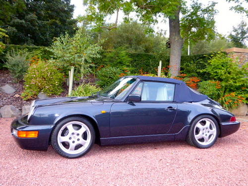 1990 Porsche 911-964 C2 Cabriolet, Manual, Concours winner SOLD (picture 4 of 6)